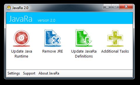 JavaRa2 Java installaties opruimen