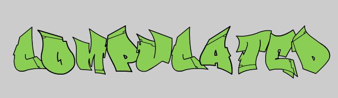 graffiti Maak je graffiti tag zelf