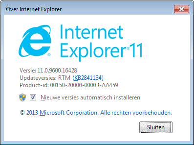 IE11 RTM Dutch Nieuwe Internet Explorer 11