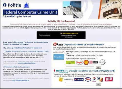 Ukash politievirus verwijderen | Compucated.be