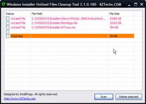 Windows_Installer_UnUsed_Files_Cleanup_Tool