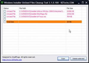 Windows_Installer_UnUsed_Files_Cleanup_Tool
